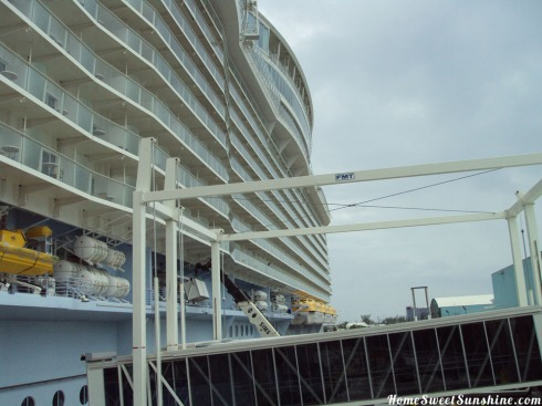 Oasis of The Seas Boarding