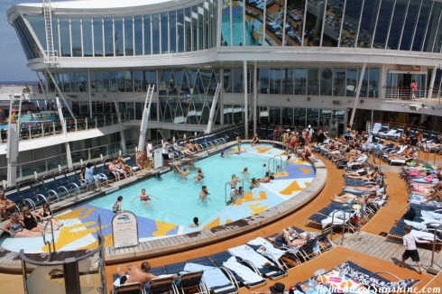 Oasis of The Seas Sports Pool