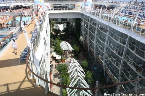 Oasis of The Seas View of Park